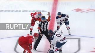 Russia: Russian men's hockey side hand US bitter 3-2 defeat in Krasnoyarsk