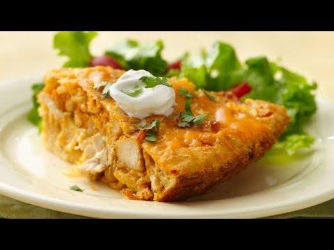 Impossibly Easy Chicken Taco Pie | Betty Crocker Recipe