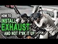 How To Install Exhaust On Honda Shadow: Correctly! - TJ BRUTAL CUSTOMS