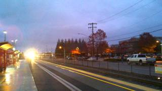 Sounder Commuter Train #1702 at Edmonds, WA from my Point of View (POV)
