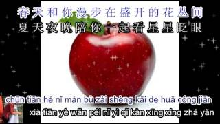 Little Apple 小苹果 karaoke