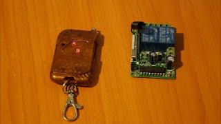 Пульт дистанционного управления!(В этом видео я показываю как подключить радиоуправляемое реле с AliExpress., 2016-05-13T14:06:29.000Z)