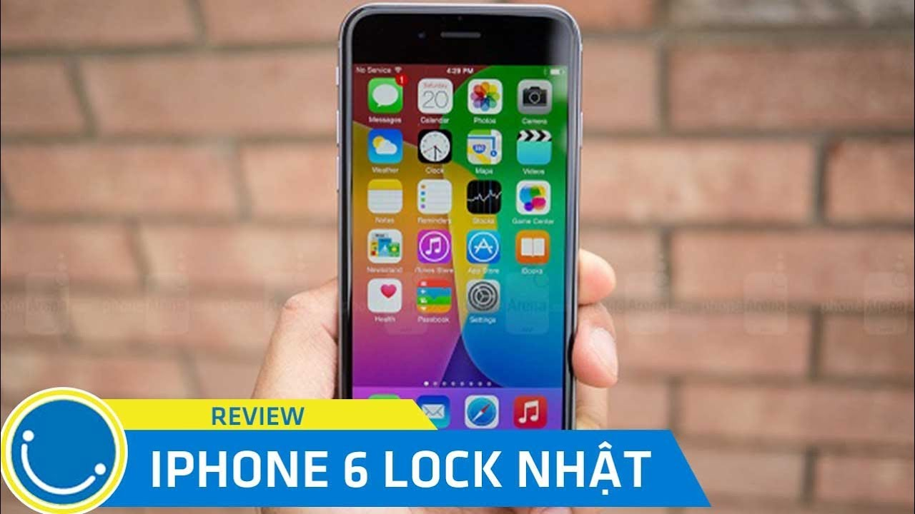 Review iphone 6 Lock Nhật - Món hàng ngon giá rẻ phân khúc 3 triệu đồng