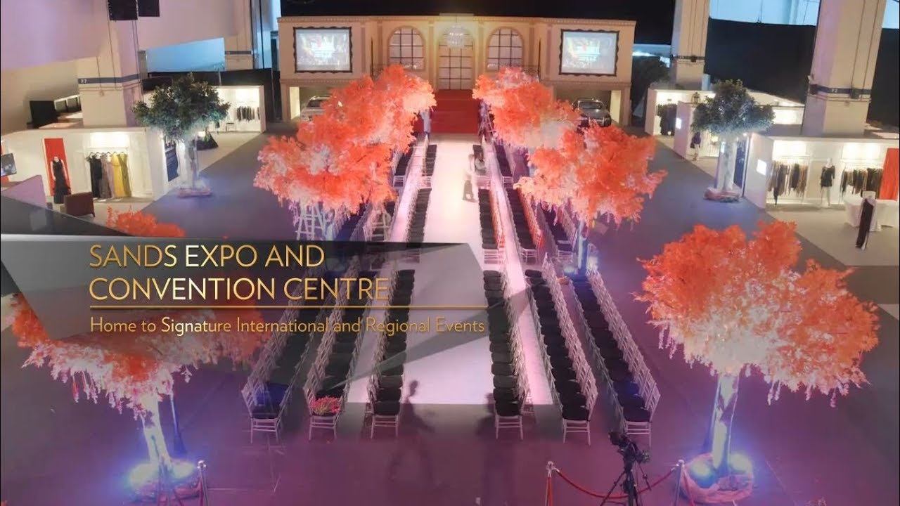 Sands Expo And Convention Centre 2018