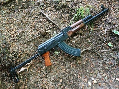 NEG (never enough guns) AK polish underfolder review