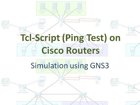 Tcl-script (Ping Test) on Cisco Routers