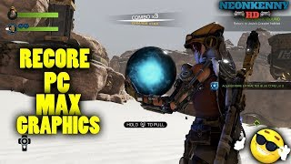 Recore PC gameplay max/ultra graphics and settings