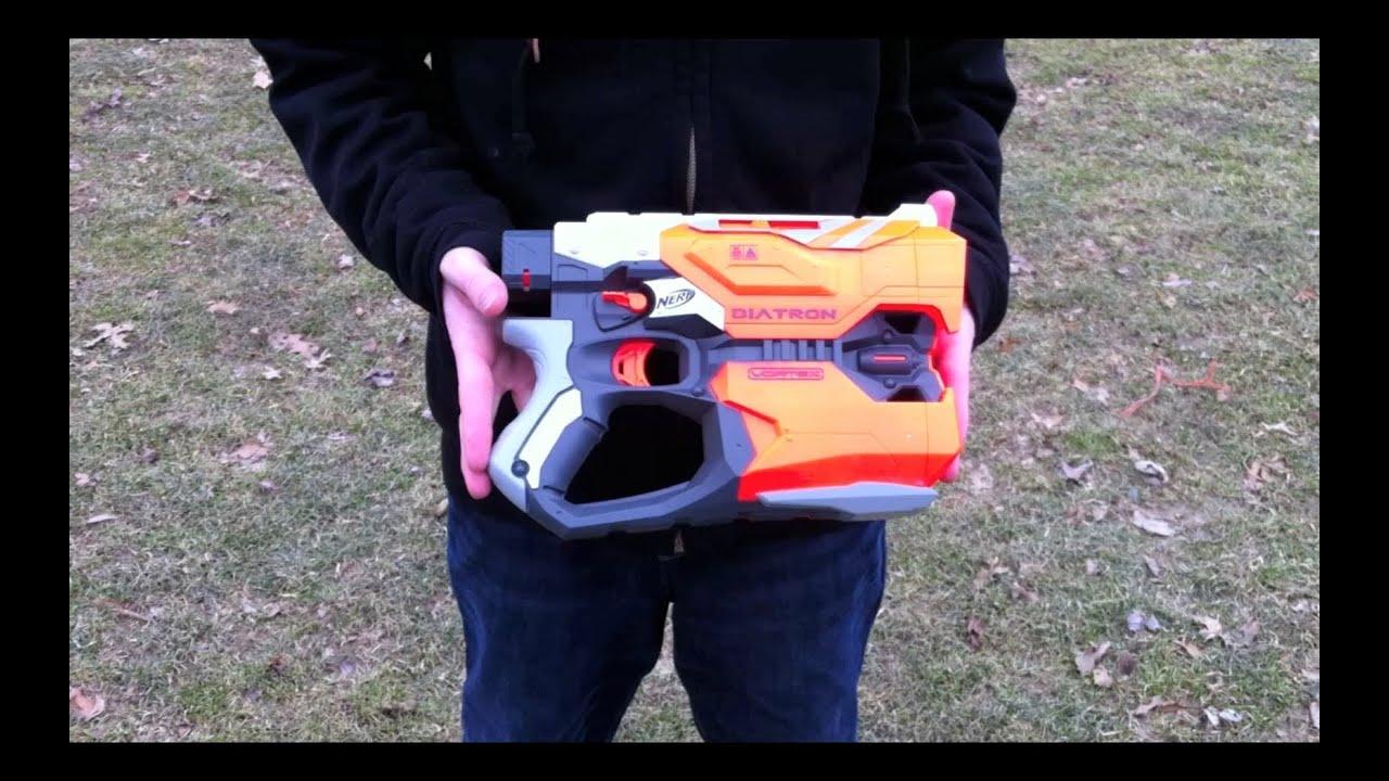 Nerf Elite Vortex Diatron pistol Gun