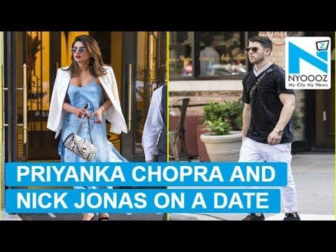 Priyanka Chopra and Nick Jonas spotted on a date