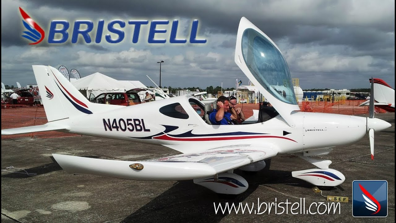 Bristell Light Sport Aircraft From BRM Aero.   YouTube