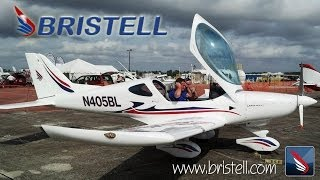 Bristell light sport aircraft from BRM Aero.