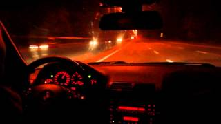 BMW E46 330Xi — Разгон 100-200 (Сити Драйв) / БМВ Е46 — Acceleration 100-200 (City Drive)