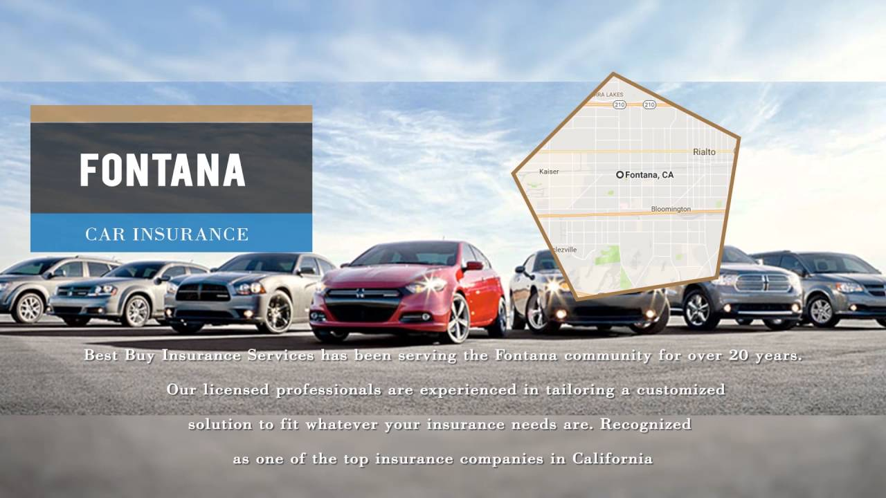 Best Car Insurance California: Cheapest Auto Insurance In Fontana CA From Best Buy