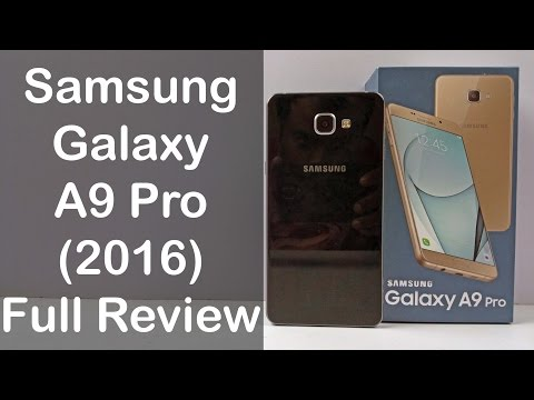 Samsung Galaxy A9 Pro Unboxing & Full Review - Nothing Wired