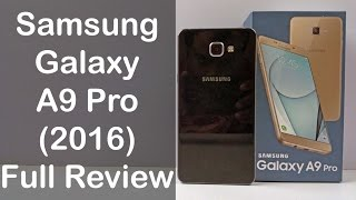 samsung galaxy a9 pro unboxing full review nothing wired