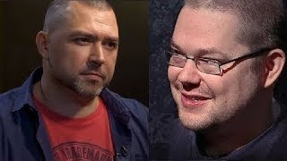 Ежи Сармат смотрит интервью с Тубусом (Егор Иванов и Константин Семин)