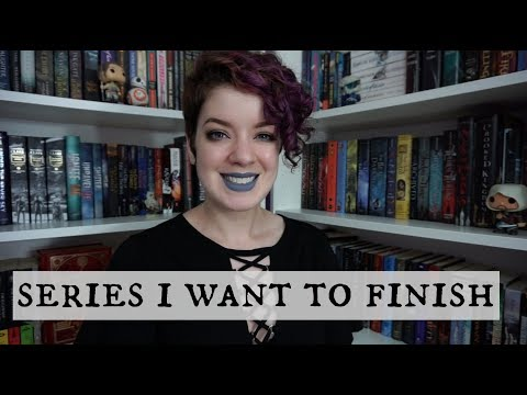 BOOK SERIES I WANT TO FINISH