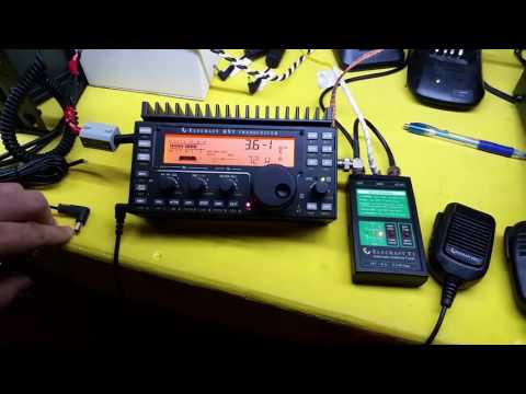 Elecraft KX3 QRP Radio and T1 External QRP Auto Tuner