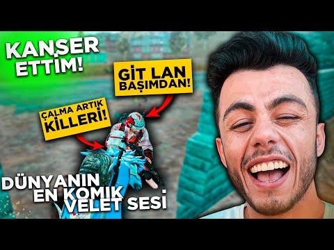 VELET SESİ İLE DÜNYANIN EN KOMİK TROLÜ!! (KANSER ETTİM) - Pubg Mobile