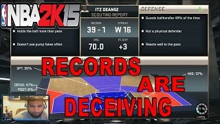 NBA 2K15 - RECORDS ARE DECEIVING - ONLINE RANKED MATCH #NBA2K15