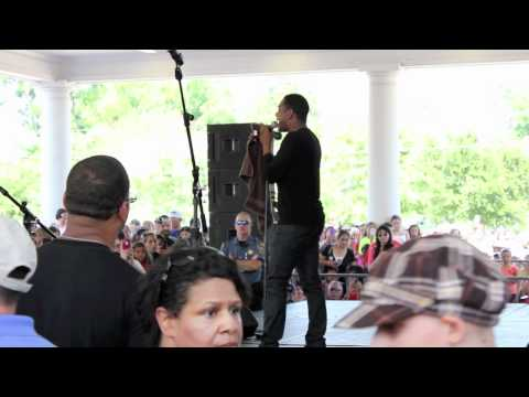 Jarvis opens for American Idol's Joshua Ledet performance In Heritage Square