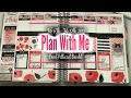 Plan With Me Feb 6th-Feb12th 2017| Using Etsy Printables| E.Michelle