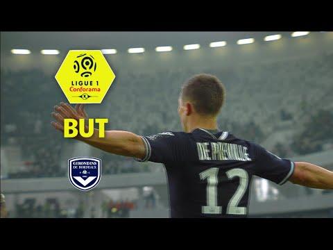 But Nicolas DE PREVILLE (22') / Girondins de Bordeaux - Olympique Lyonnais (3-1)  / 2017-18