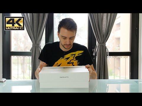 MacBook Pro Retina Touchbar - Unboxing e prime impressioni