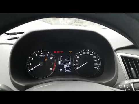 Hyundai Creta   - как погасить лампочку TPMS? How to reset TPMS lamp?