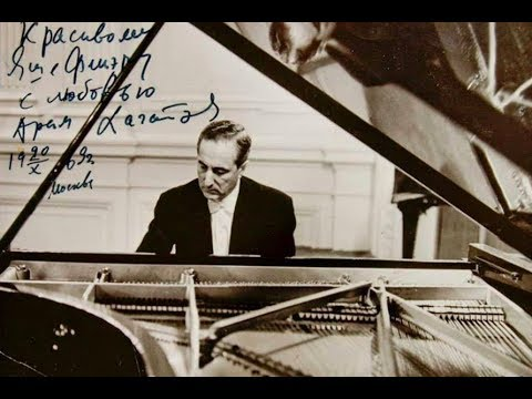 Yakov Flier plays Bach, Schumann, Liszt, Scriabin - live 1960