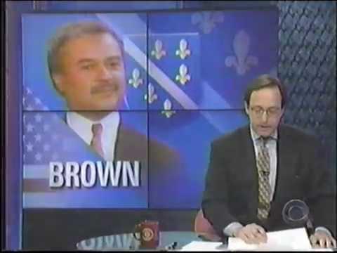 Ron Brown Plane Crash CBS News Coverage 1996