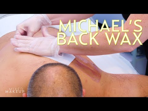 Back Wax for Men: Sharzad's Husband Gets a Treatment! | The SASS with Susan and Sharzad