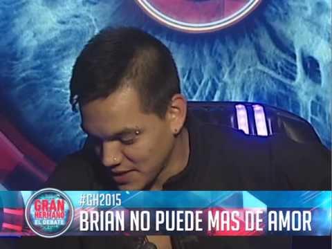 Brian no puede más de amor por María Paz