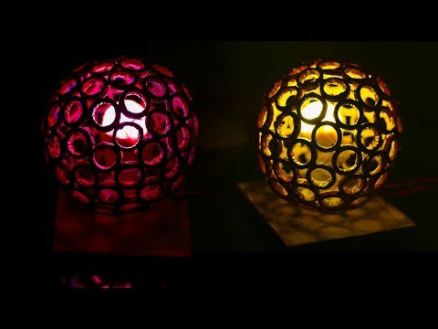 DIY Newspaper Lamp | Amazing DIY idea!!!! | Balloon craft idea | DIY arts and crafts |