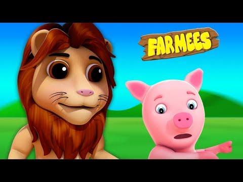 Eeny Meeny Miny Moe   filastrocche per bambini   canzone per bambini   Baby Rhyme   Farmees Italiano