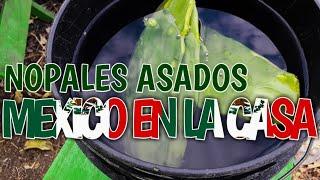 DELICIOSOS NOPALES ASADOS, RECETA MEXICANA