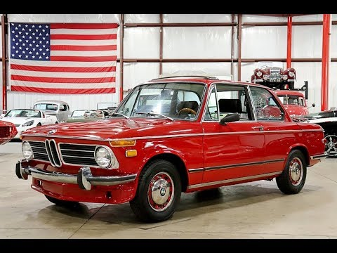 1972 BMW 2002 Red