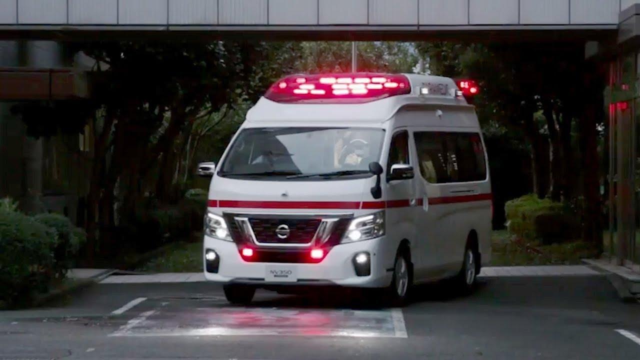 nissan paramedic concept  future ambulance youtube