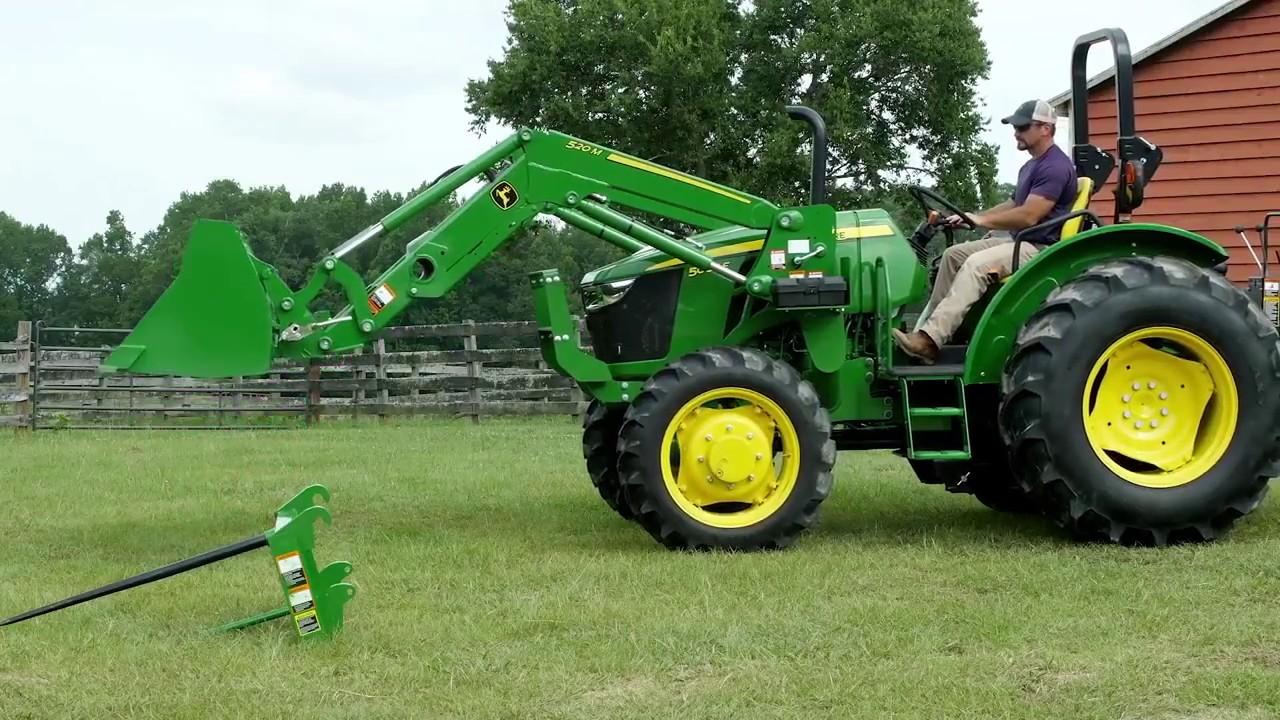 John Deere 5045E 50-hp Utility Tractor