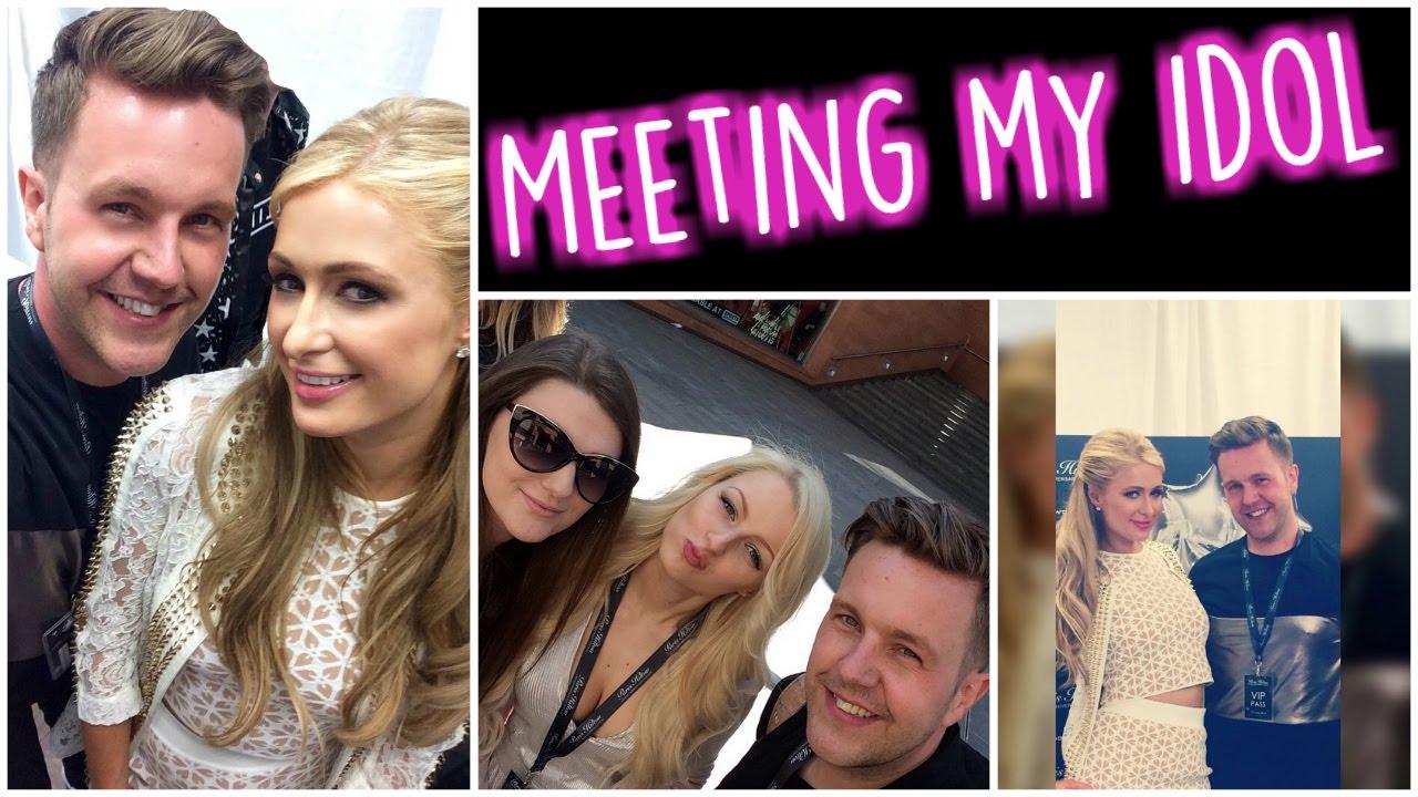 Paris Hilton Vip Meet And Greet Uk Liverpool Youtube