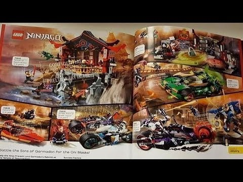The Lego Ninjago 2018 Set Link Analysis!