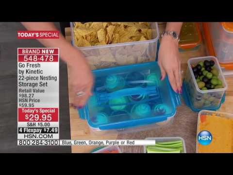 HSN | Kinetic Food Storage Premiere 06.13.2017 - 04 PM
