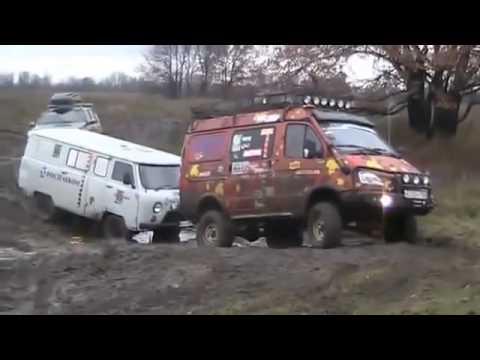 Nissan Patrol vs UAZ 452 vs GAZ Gazelle 4x4 Off road
