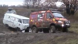 Nissan Patrol vs UAZ 452 vs GAZ Gazelle 4x4 Off road