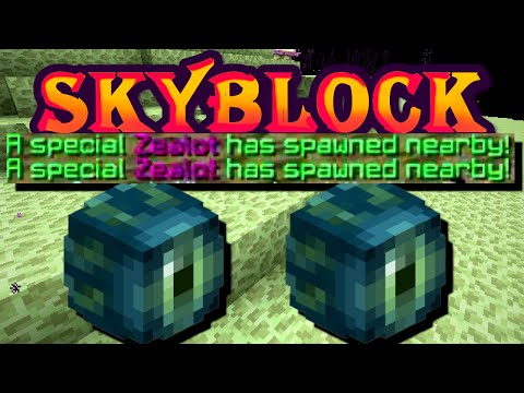 Solo Hypixel SkyBlock [46] 2 Summoning Eyes IN A ROW (0.000566893% Chance)