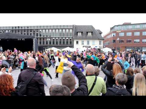 FLASH MOB - Naestved City Night April 2012 - Dennis Thomsen