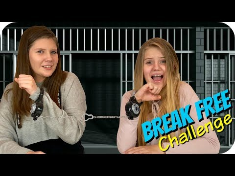 BREAK FREE CHALLENGE || FUN SPY KIDS GAMES || Taylor and Vanessa