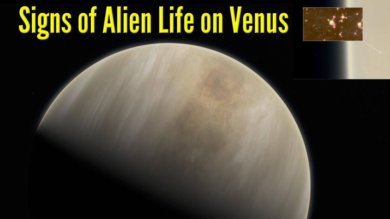 Life on Venus? Astronomers See Phosphine Signal in Its Clouds