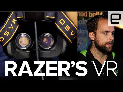 Razer talks about their VR headset at E3 2016