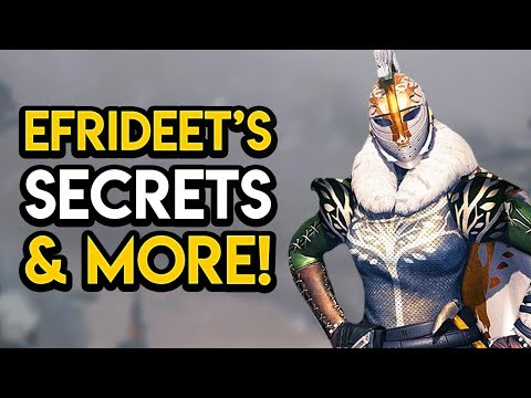 Destiny 2 - MYSTERIOUS GUARDIAN CULT! Efrideet, Red War Stories, MORE! thumbnail